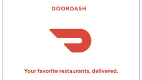 DoorDash Gift Card - $25 $50 or $100 -Email delivery