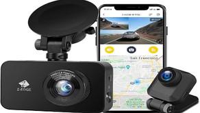 Z-Edge Dual Dash Cam Built-in Wi-Fi