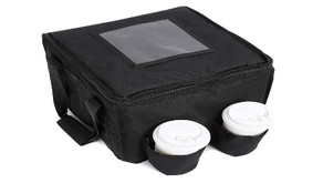 Cherrboll Insulated Delivey Bag with 4 Cupholders