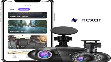 Nexar Pro Dual Dash Cam| WiFi | SD Card and Unlimted cloud storage