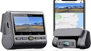 VIOFO Dual Dash Cam with Wi-Fi and GPS