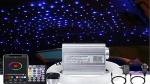 AKEPO 10W Music Fiber Optic Lights kit for Star Ceiling Sky Light