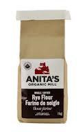 Organic Rye Flour 22lb *CA