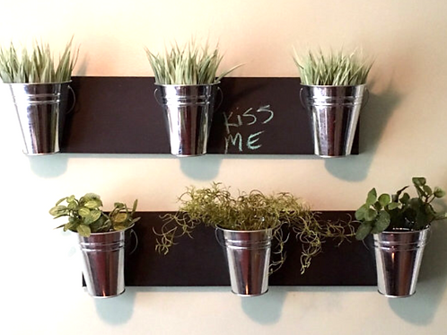 Indoor Wall Planter- Horizontal Mount
