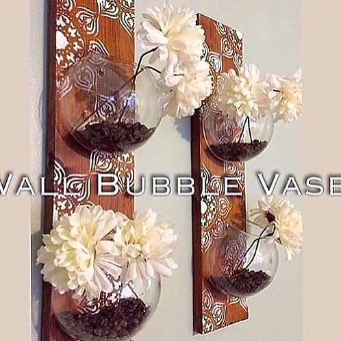 Wall Bubble Vase Terrarium