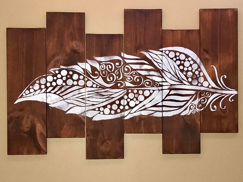Light As A Feather 6-piece wood panel set