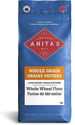 Organic Whole Wheat Flour 10kg *CA