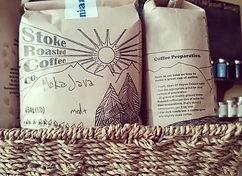 Stoke Roasted local and organic coffee
