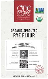 Organic Sprouted Rye Flour *CA