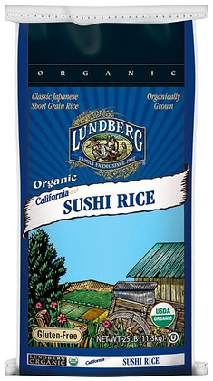 Organic White Sushi Rice *US