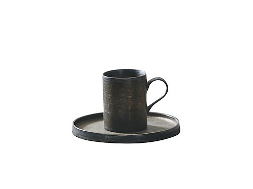 JA Coffee Cup with Plate