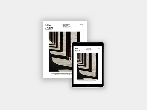 New Norm Magazine Issue 01 (Digital Edition)
