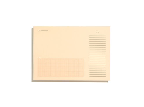 Desktop Notepad – Pale Salmon