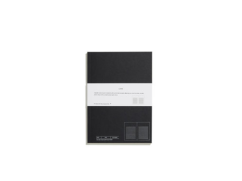 Layflat Swiss Bound Notebook - Lines