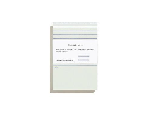 Mini Notepad-Lines