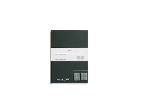 Layflat Swiss Bound Notebook - Graphs