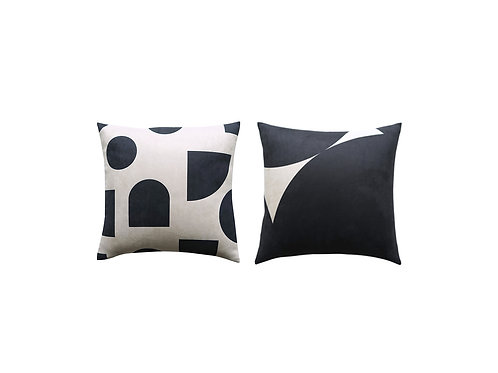 Patch Cushion Cover (Set of two)
