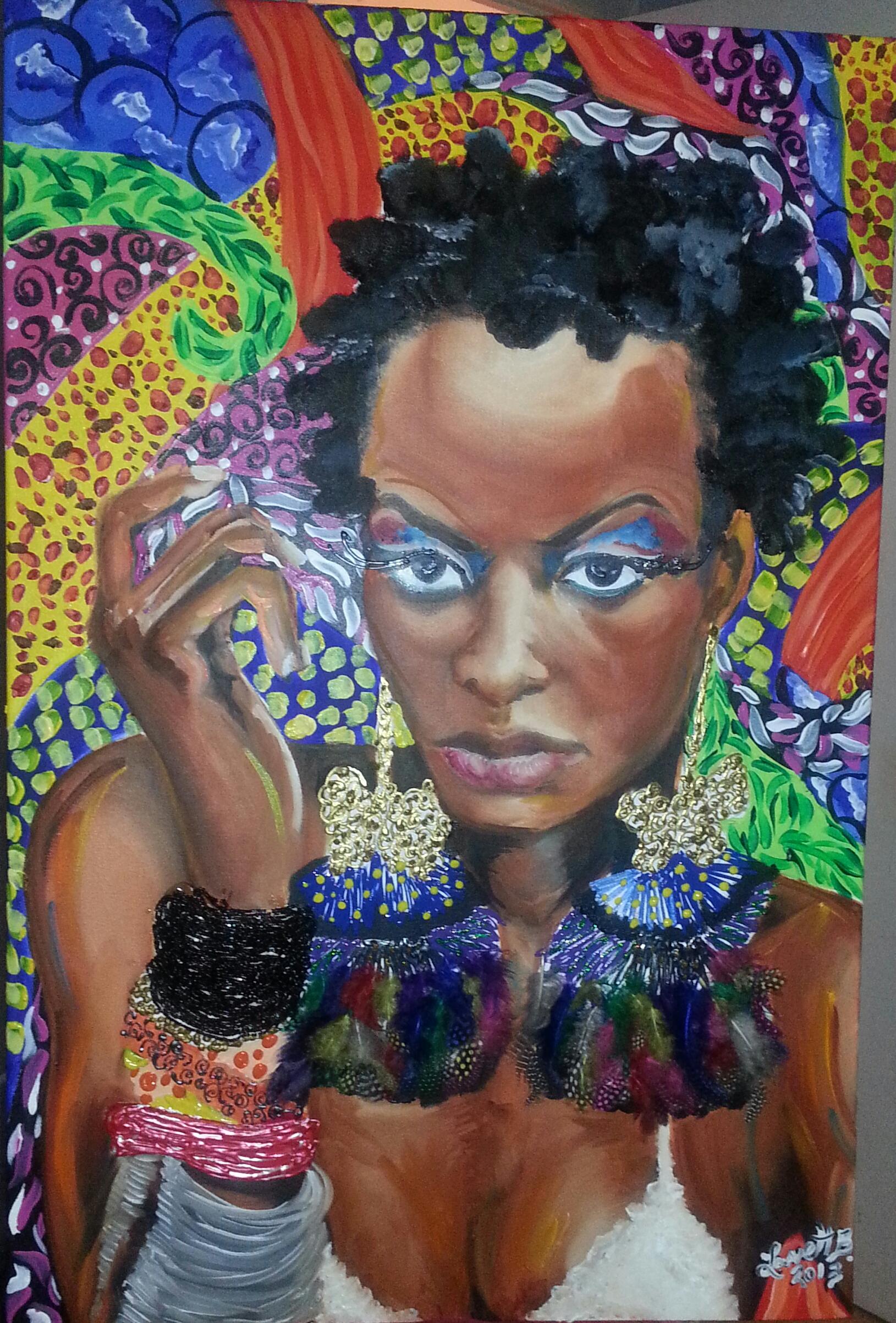 Calypso Queen_24x30
