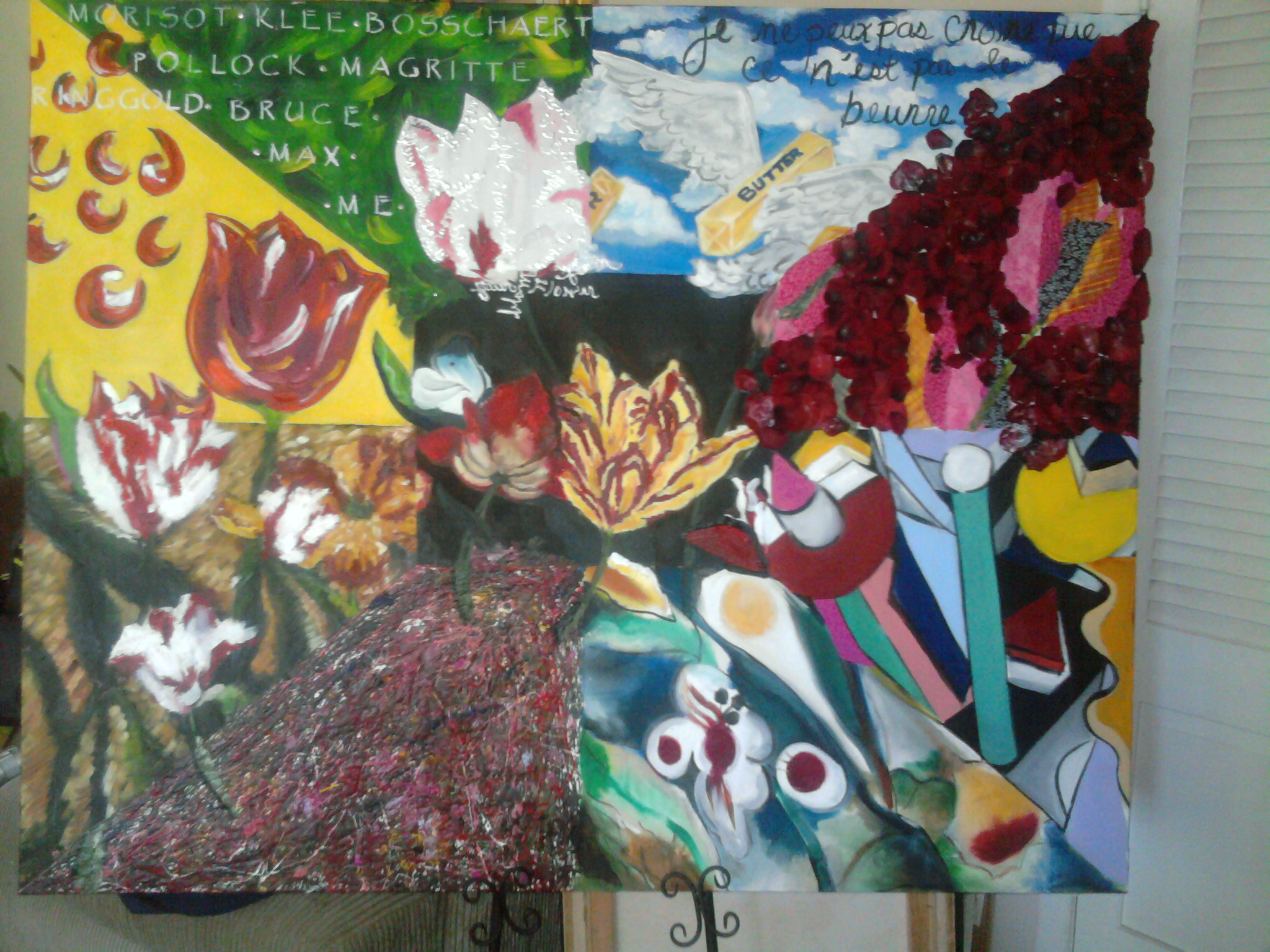 Art History in Bloom