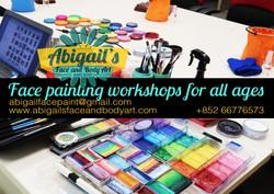 HK Disneyland Face Painting Workshop