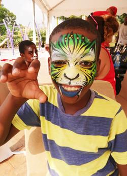 Equatorial Guinea Bodypaintnig Fest