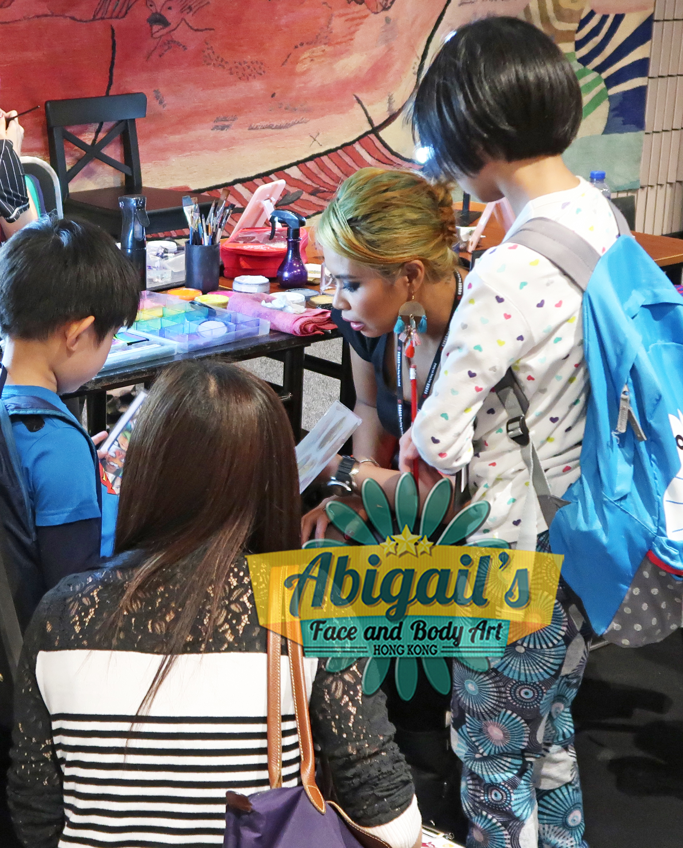 face painting hk