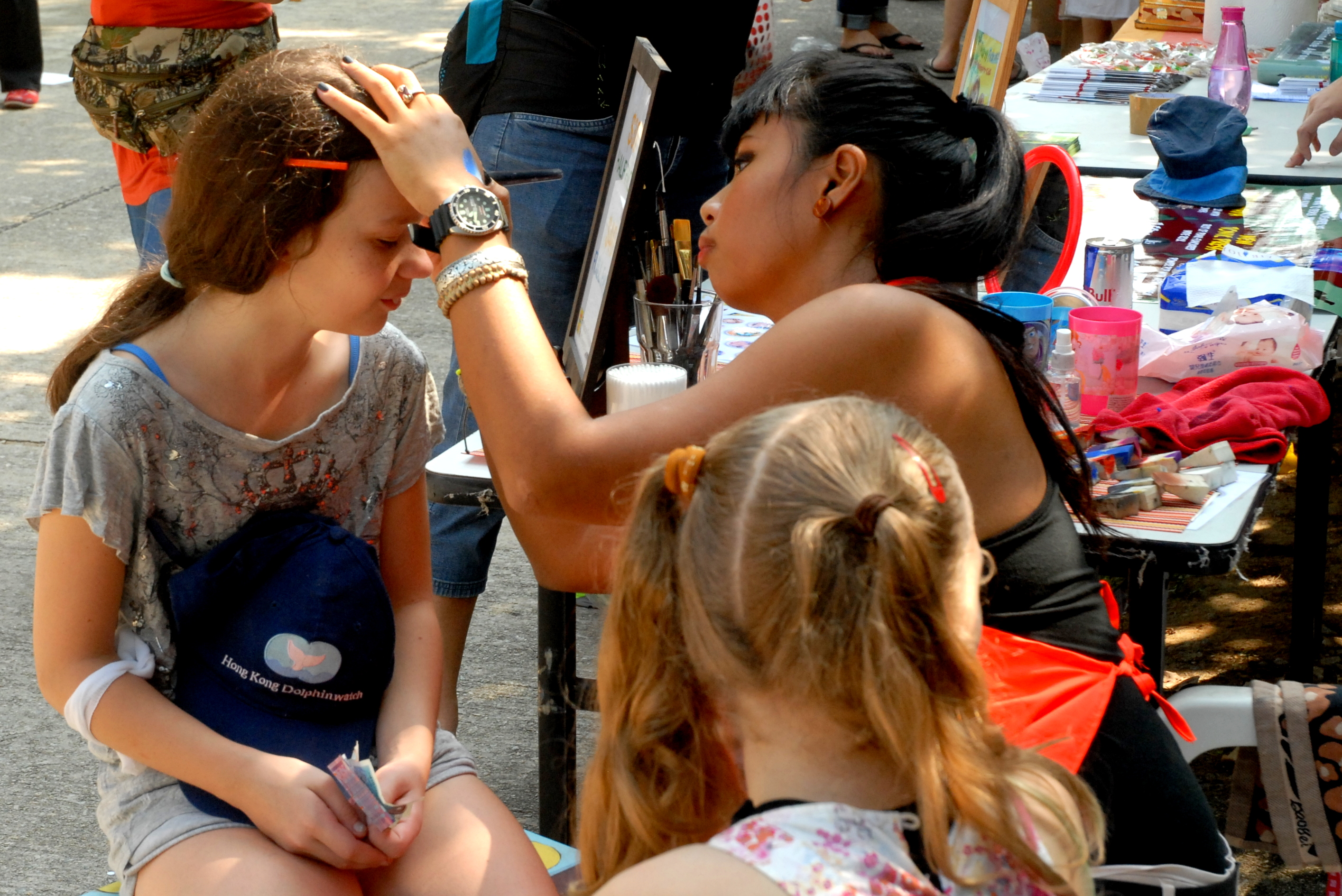 hk events entertainers face painter