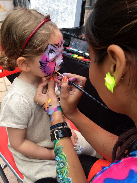 Hong Kong Face Painting