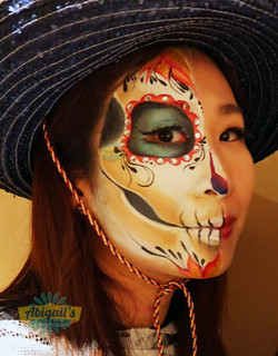 halloween makeup hk