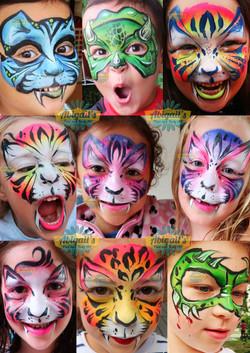 face paint hong kong