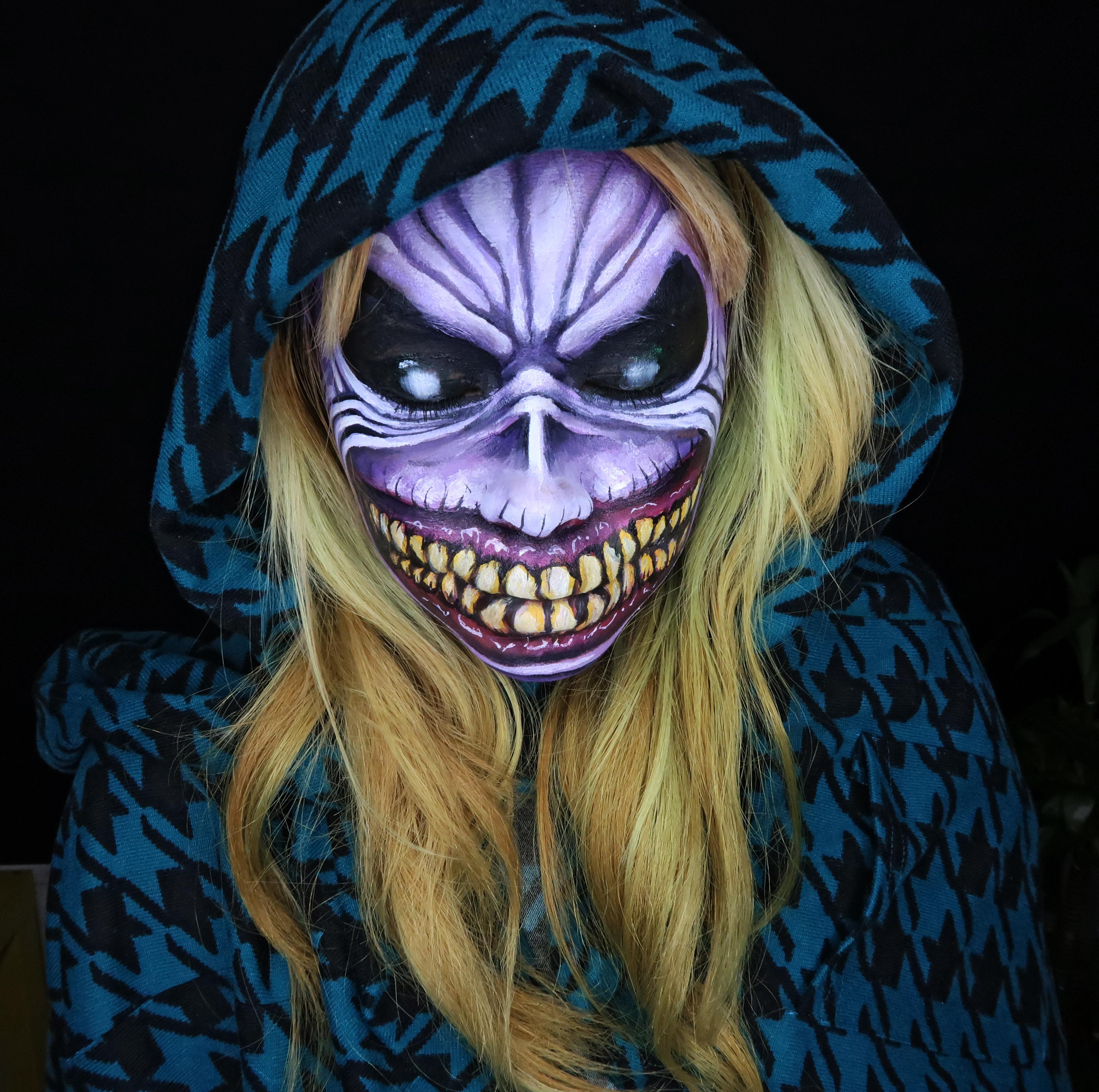 Hong Kong Halloween makeup