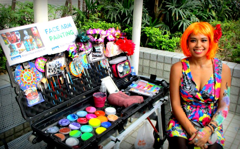 Hong Kong Face Painter