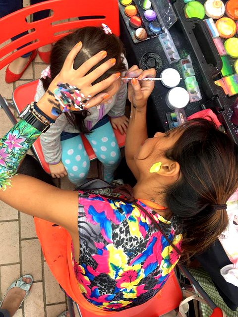 face painter hong kong