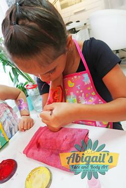 hk face painting workshop