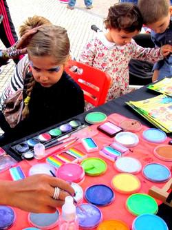 hk event face painter