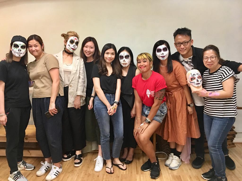 face painting class hong kong