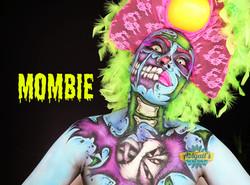 Pop Art Zombie Makeup