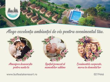 Buftea Lake Resort - Taramul fermecat al evenimentului tau