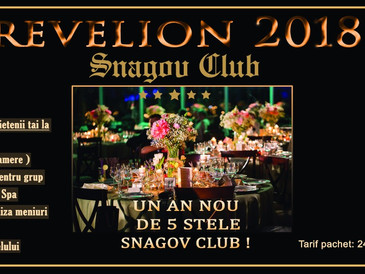 Revelion 2018 la Snagov Club !