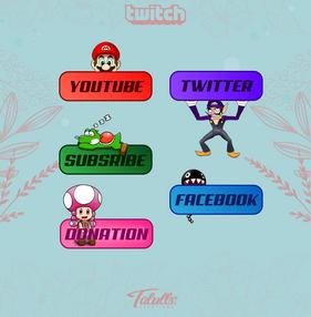 Panels Twitch