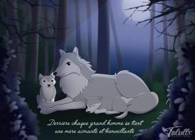 Fête des mères - Loups