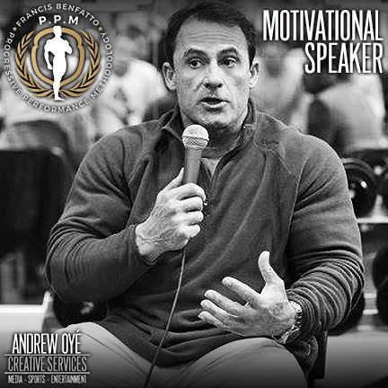 IFBB Pro Francis Benfatto, Pro Bodybuilding Legend, Physique Icon, PPM Trainer, Billionaire Lifestyle Coach, Andrew Oye, ACCSELerator, CEO, Benfatto Enterprises, Progressive Performance Methodology, IFBB Pro League, Mr. Olympia, Classic Bodybuilding, Classic Physique, Personal Trainer, Master Trainer, Fitness, Fitness Philosopher, Benfatto Nutrition, PPM Training Academy, Motivational Speaker, Benfatto Journal, Wellness, Health, Seminar Instructor, Posing Coach