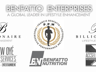Legendary IFBB Pro Francis Benfatto's Benfatto Enterprises + Benfatto PPM Join Forces With Billionai