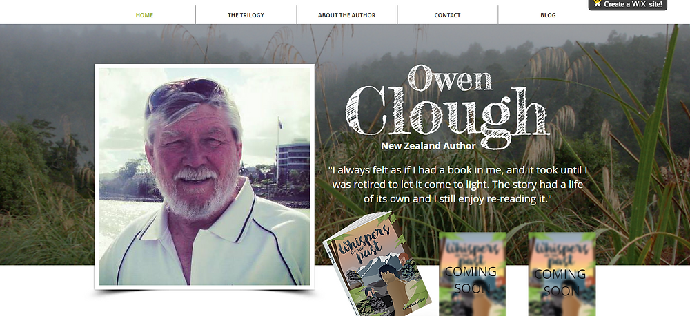 www.owencloughbooks.com is up and running!