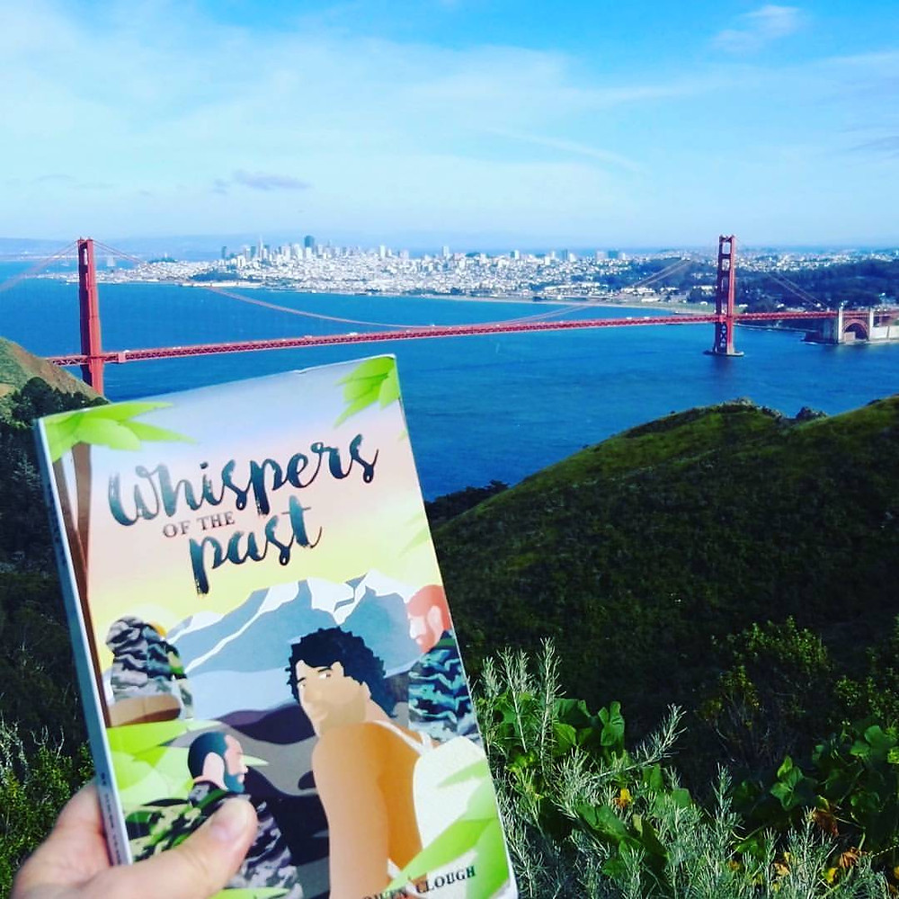 My book, Whispers of the Past in San Francisco! Order it in paperback & eBook word wide.