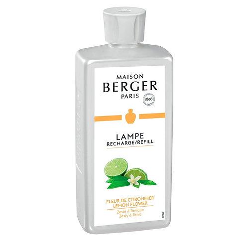 Lemon Flower 500 ml (16.9 oz.) Fragrance Lamp Oil - Lampe Berger by Maison Berge
