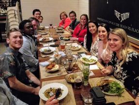 Had a good time @ Xmas dinner!