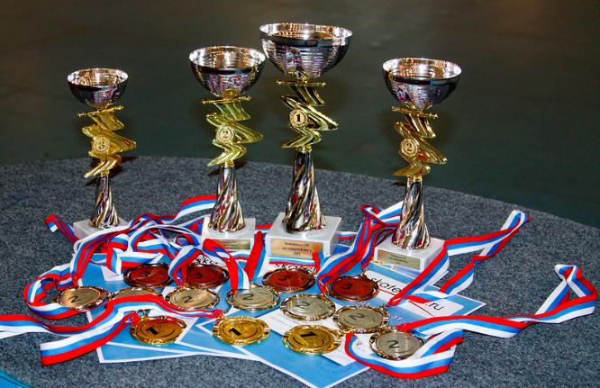 Улов нашей команды на Чемпионате СНГ