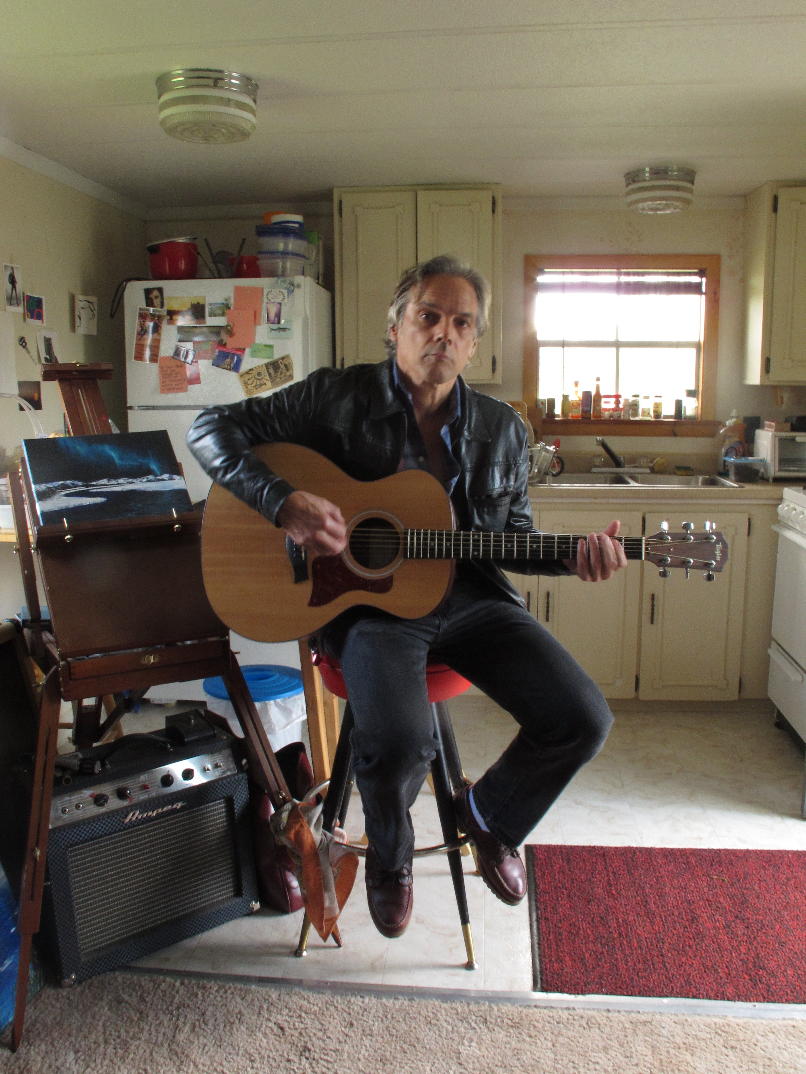 At home in Montana, May 2011