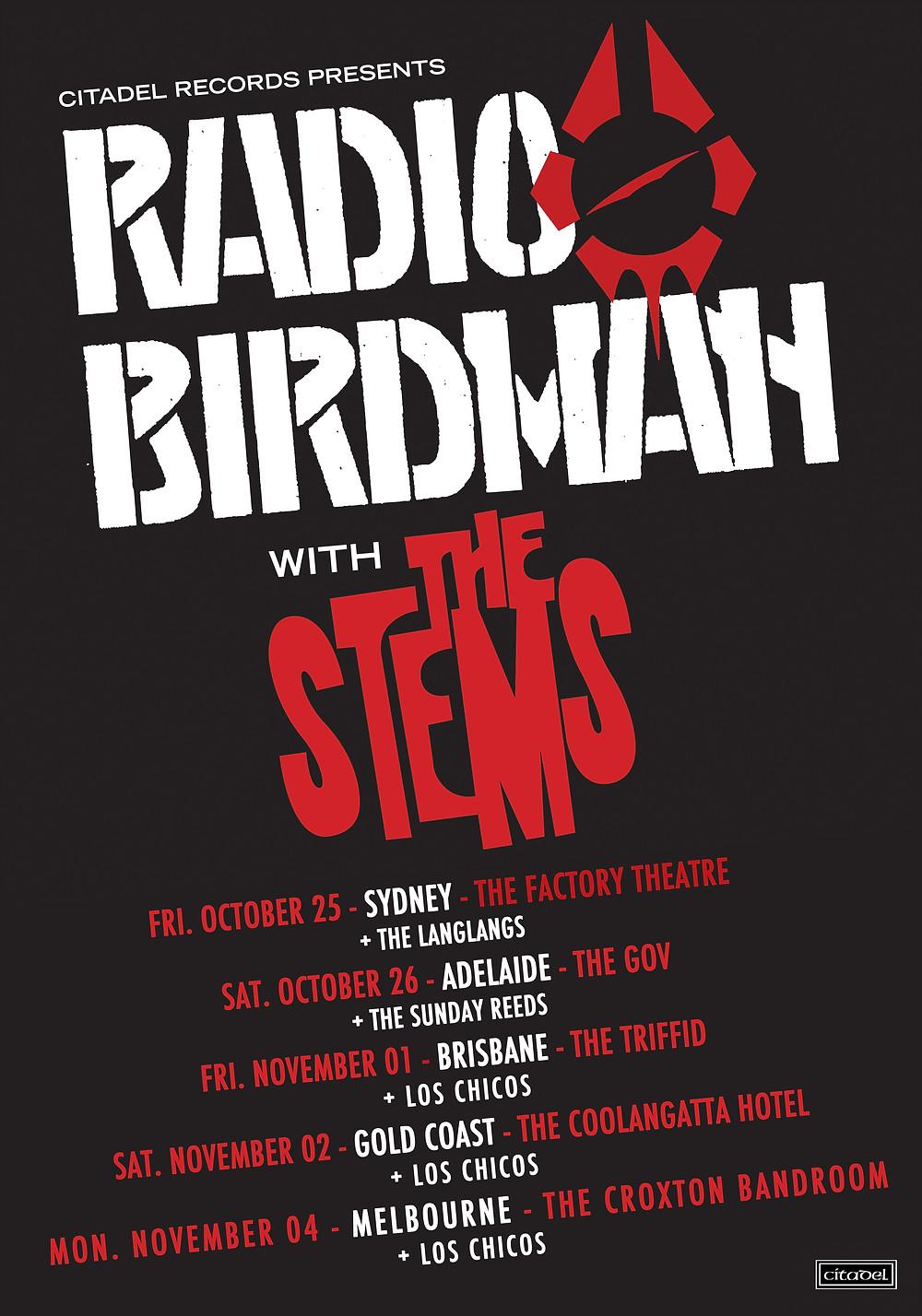 Announcing tour dates!